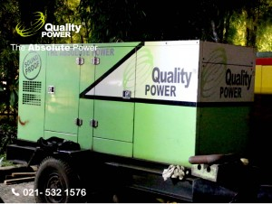 Rental AC, Gebset & Tent supported by Quality Power  The election of the regional head of Indonesia at Pantai Mutiara Jakarta, 19 April 2017.
