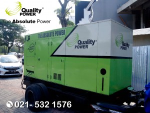 Rental AC, Genset & Cooling Fan supported by Quality Power Thanksgiving at Diamond Golf PIK Jakarta, 02 September 2017.