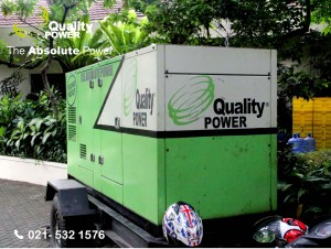 Rental AC, Genset & Sound System supported by Quality Power The Wedding of Aini & Olivier at Kemang Selatan Road Jakarta, 8 April 2017.