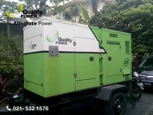 Rental AC & Genset supported by Quality Power Birthday Party at Pondok Indah - Jakarta, 19 February 2017.