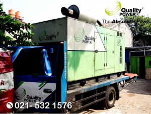 Rental AC & Genset supported by Quality Power  Happy Wedding at Kalibata Utara Road Jakarta, 06 August 2017.