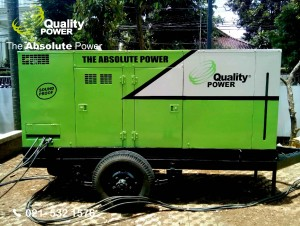 Rental AC & Genset supported by Quality Power Home party at 1st Cipinang Cempedak Road Jakarta, 12 March 2017.