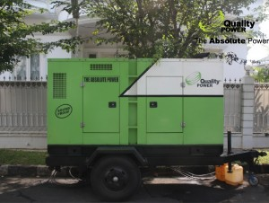 Rental AC & Genset supported by Quality power indonesia