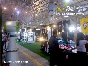 Rental AC, Jet Fan & Misting Fan supported by Quality Power Hype Tropical Forest at PIK Jakarta, 5 May 2017.