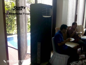 Rental AC supported by Quality Power Home Party & Reception at Duren Sawit Jakarta, 05 February 2017.