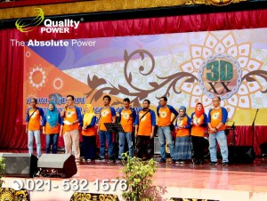 Rental Sound System supported by Quality Power 3DXX Reunion at Museum Prajurit TMII Jakarta, 26 June 2018