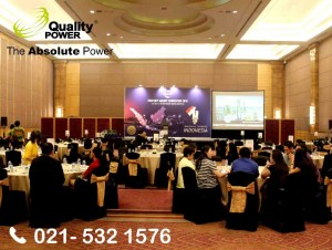 Rental Sound System supported by Quality Power, Forest City Property Agency Convention 2018 at Central Park Pullman Hotel Jakarta 18 January 2018.