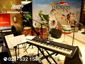 Rental Sound System supported by Quality Power, Mexico Fiesta at Grandhika Hotel Jakarta, 16 April 2018.