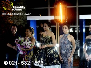 Rental Sound System supported by Quality Power Talk Show at Skye Menara BCA Jakarta. 08 November 2017.