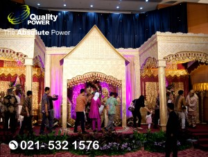Rental Sound System supported by Quality Power Wedding of Tika & Bowo at Graha Sucofindo Jakarta, 05 August 2017.