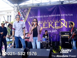 Rental Sound System supported by Quality Power Weekend at Kota Tua Jakarta, 20 August 2017.
