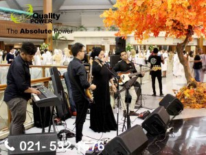 Rental Sound System supported by Quality Power, Zap Employee Gathering at JCC Senayan Jakarta 14 January 2018.
