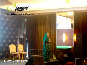 Rental sound system supported by Quality Power Jakarta Nutriton Club Sharing at Baywalk Sudirman Jakarta, 19 January 2017.